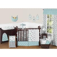 Sweet Jojo Designs Earth and Sky Collection Multicolored Microfiber 9-piece Crib Bedding Set