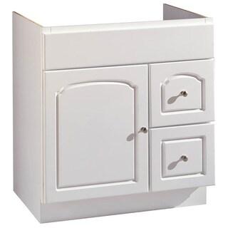 """Hardware House 419861 30"""" X 21"""" White Aspen Vanity"""