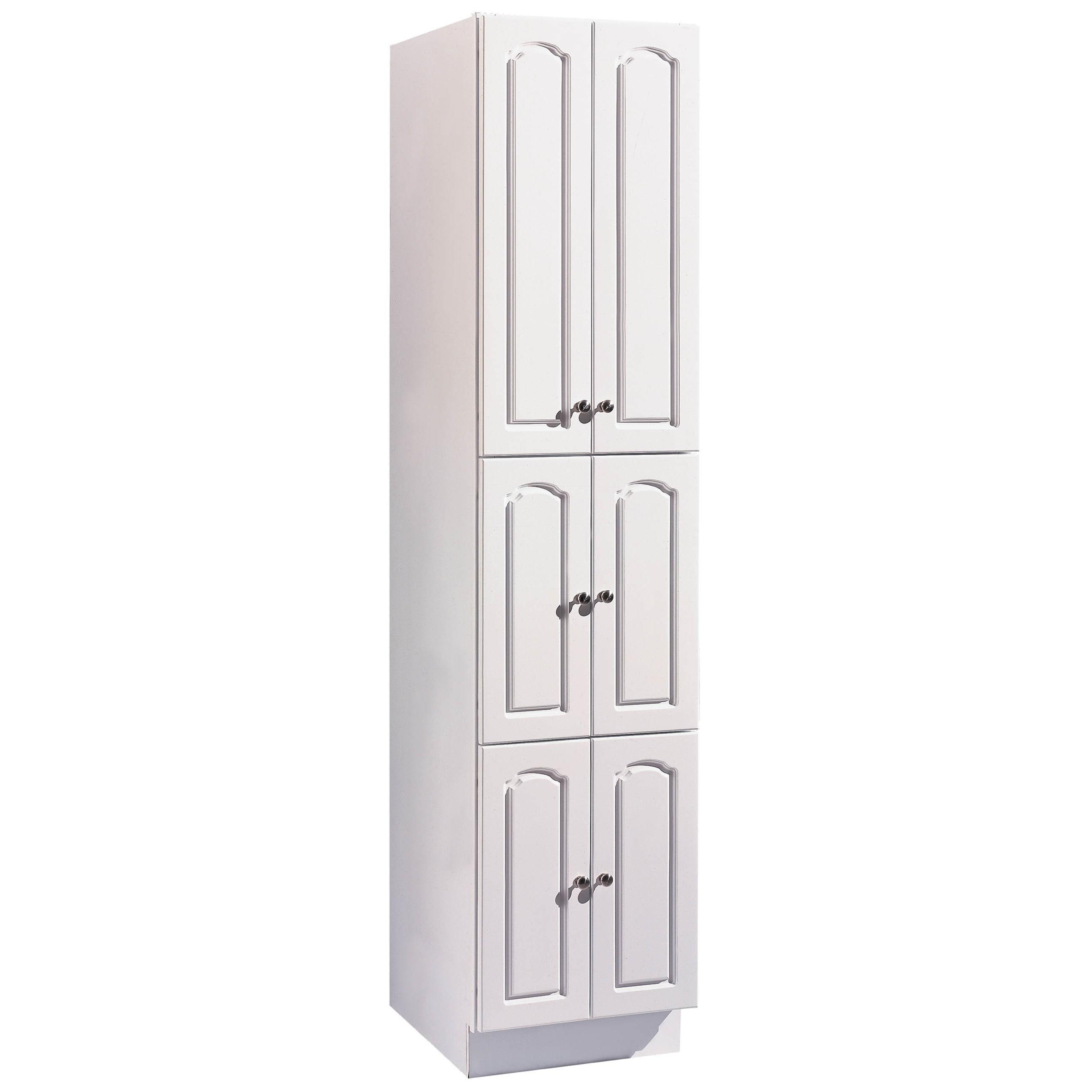 """Hardware House 419903 18"""" X 21"""" X 78"""" White Aspen Linen C..."""