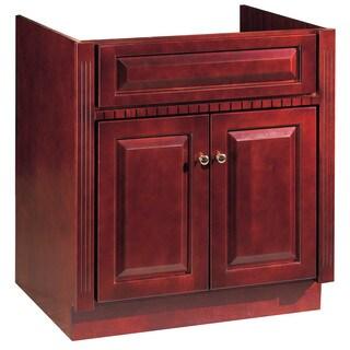 """Hardware House 419937 30"""" X 21"""" Cherry Ambrosia Two Door Vanity"""