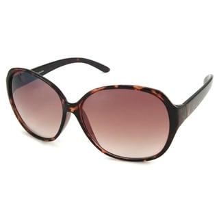 UrbanSpecs NY3565-TRT Oversized Brown Sunglasses