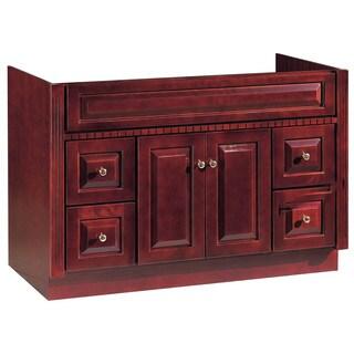 """Hardware House 419960 48"""" X 21"""" Cherry Ambrosia Vanity"""