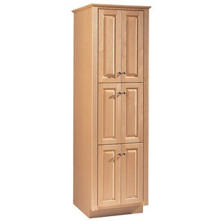 """Hardware House 420042 23.75"""" X 21"""" X 78"""" Maplewood Linen Cabinet"""