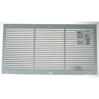 """American Metal Products 377W12X6 12"""" X 6"""" White Return Air Grille"""