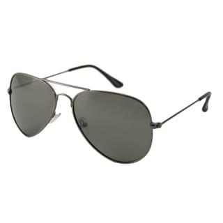 UrbanSpecs NYS77PL-GUN Aviator reen Sunglasses