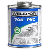 Ips Weldon 10094 1 Pint Gray 705 PVC Cement