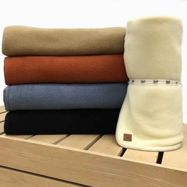 Bill's Khakis Fleece Standard Issue Throw Blanket