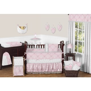 Sweet Jojo Designs Alexa Collection Microfiber 9-piece Crib Bedding Set