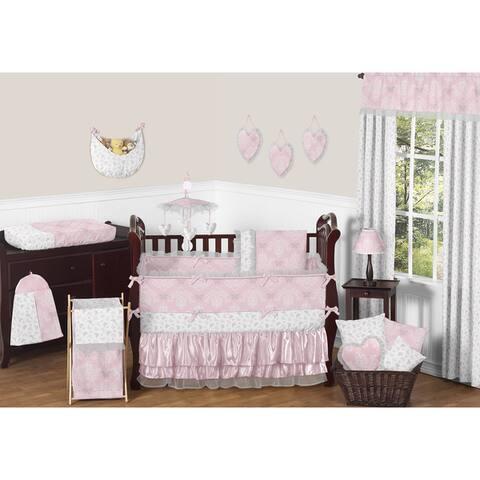 Sweet Jojo Designs Alexa Collection Microfiber 9-piece Crib Bedding Set
