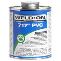 Ips Weldon 10150 1/2 Pint Clear 717 PVC Cement