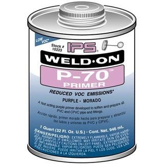 Ips Weldon 10223 1 Quart PVC Primer Purple