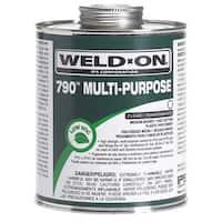 Ips Weldon 10260 1/4 Pint Clear 790 Multipurpose Pipe Cement