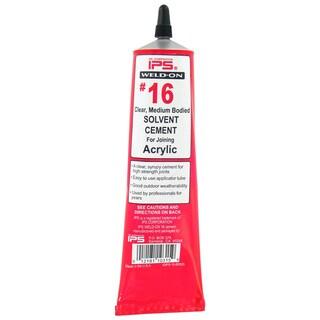 Ips Weldon 10315 5 Oz 16 Acrylic Cement