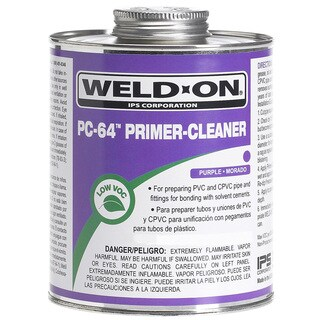 Ips Weldon 10875 1/4 Pint Purple PC-64 Primer & Cleaner