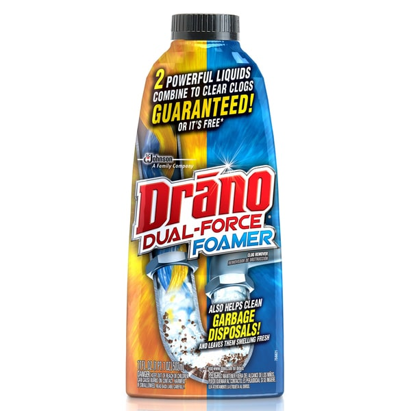 SC Johnson 14768/12738 Drano Professional Strength Foamer Clog Remover. Opens flyout.