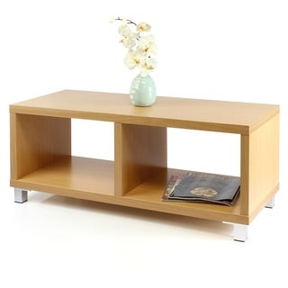 Furinno Nihon Dual-functiona Contemporary TV Stand Coffee Table