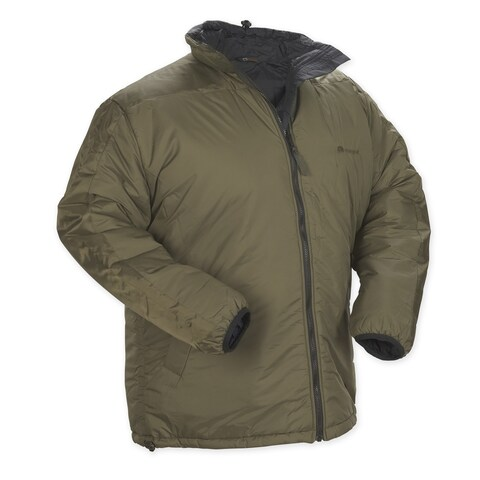 Snugpak Men's Sleeka Elite Green Nylon Reversible Jacket