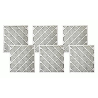 Merv 11 21-inch x 23-inch x 1-inch Allergen Air Furnace Filters (Pack of 6)
