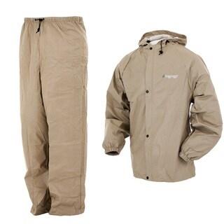 Frogg Toggs Pro Lite Khaki Rain Suit