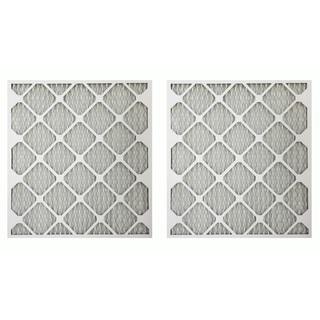 MERV 11 21-inch x 23-inch x 1-inch Allergen Air Furnace Filter (2 Pack)