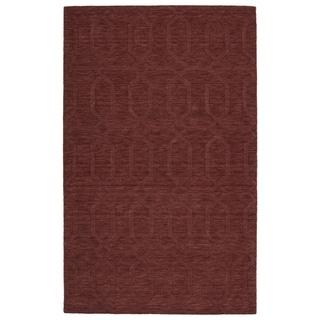 """Trends Cinnamon Pop Wool Rug - 3'6"""" x 5'6"""""""