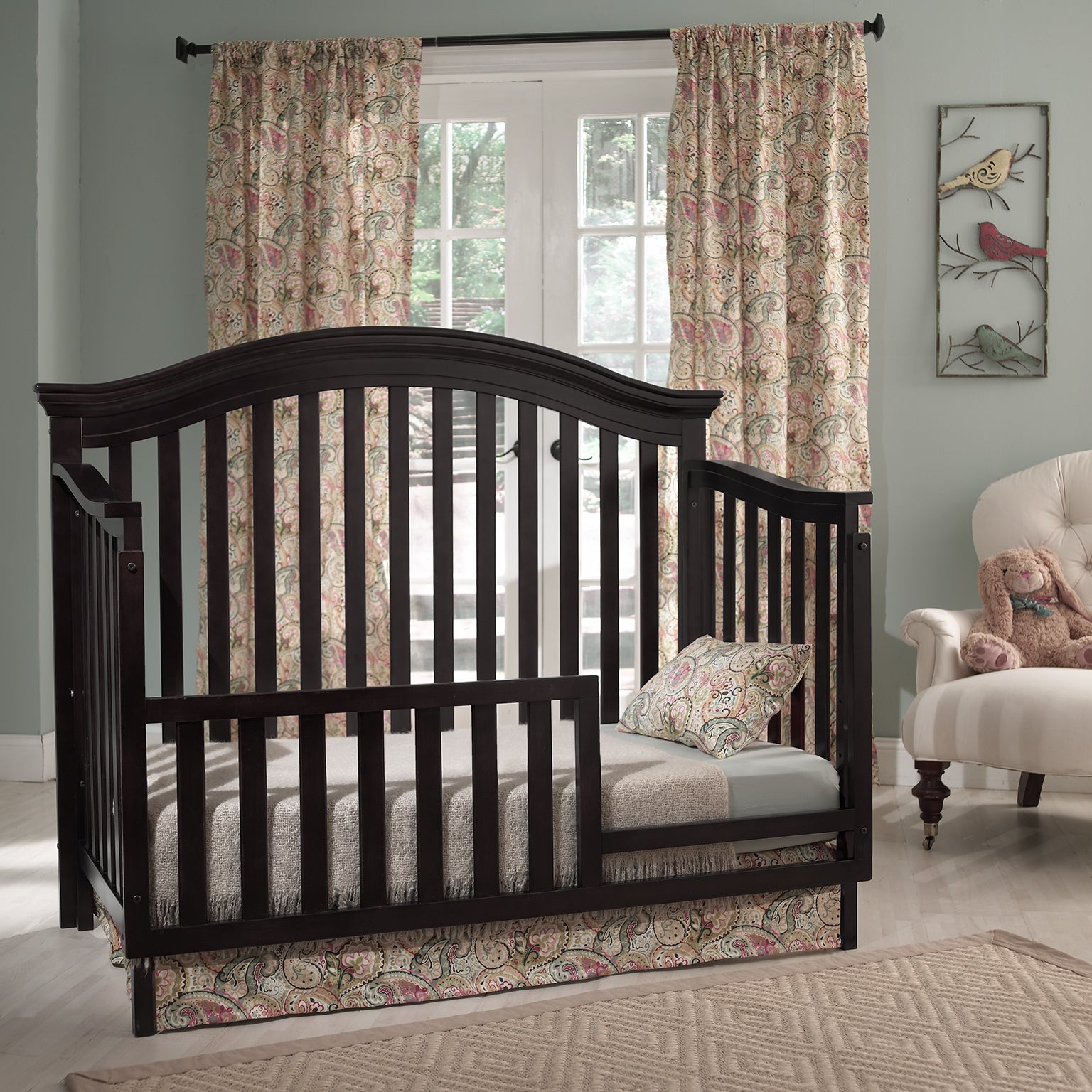 Munire Rhapsody Lifetime 4 In 1 Crib