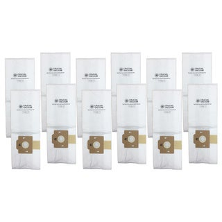 12-pack of Simplicity Cloth F Bags Part # A812, SF-6, RSL1, RSL1A, RSL1AC, and RSL3C