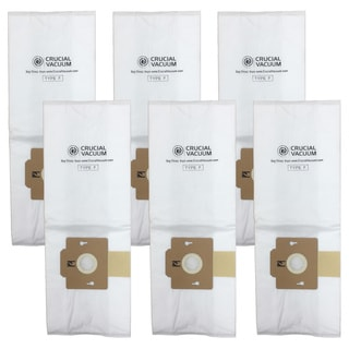 6--ack Simplicity Cloth F Bags, Part # A812, SF-6, RSL1, RSL1A, RSL1AC, and RSL3C