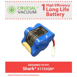 Replacement Battery, Fits Shark V1700Z & V1930 Cordless Sweeper, Compatible with Part X1725QN