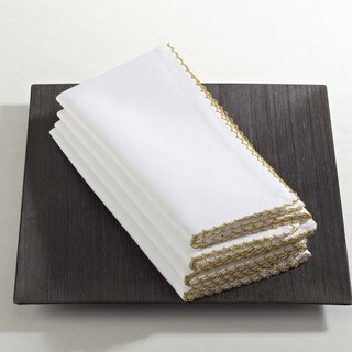 Recotting Collection Whip Stitched Design Napkin (Set of 4)