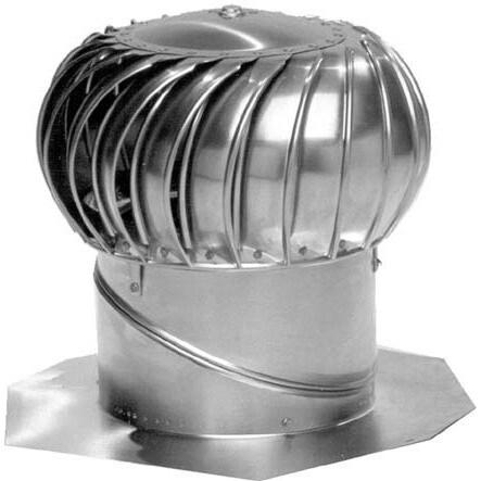 Lomanco BIB-12 Mill Whirlybird Turbine Ventilator (Vent T...