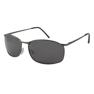 UrbanSpecs LR99758-NICKLE Square Smoke Sunglasses