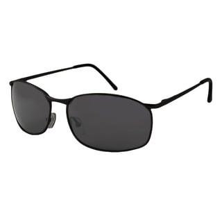 UrbanSpecs LR99758-BLK Square Smoke Sunglasses