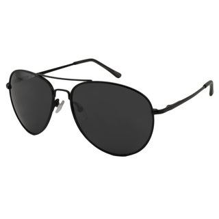 UrbanSpecs LR99755-BLK Aviator Smoke Sunglasses