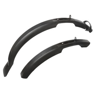 Ventura Mud Max Black Plastic 75-millimeter Mudguard/Fender Set for 26-29-inch Wheel Bikes