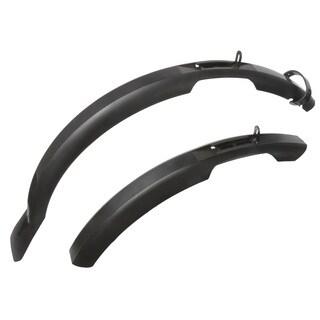 Ventura Mud Max Black Plastic 75-millimeter Mudguard/Fender Set for 26-29-inch Wheel Bikes