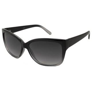 UrbanSpecs LR99248-GRY Cateye Grey Gradient Sunglasses