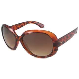 UrbanSpecs LR99228-TRT Round Brown Gradient Sunglasses