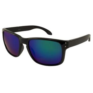 UrbanSpecs LR99150-SNYGRN Sport Green Mirror Sunglasses