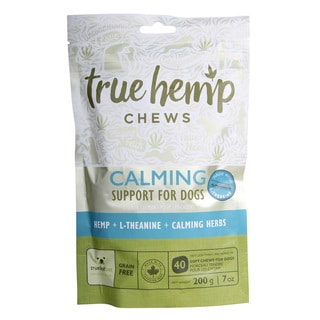 True Hemp Dog Chews for Calming Support