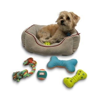 Animal Planet 5-piece Dog Toy Bin