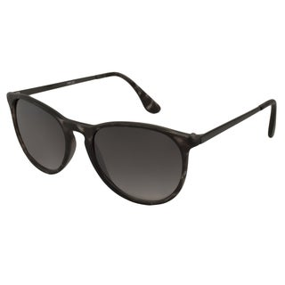 UrbanSpecs LR169122-GRY Round Grey Gradient Sunglasses