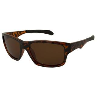 UrbanSpecs LR129510-TRT Sport Polarized Brown Sunglasses