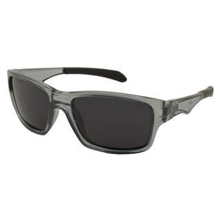 UrbanSpecs LR129510-GRY Sport Polarized Smoke Sunglasses