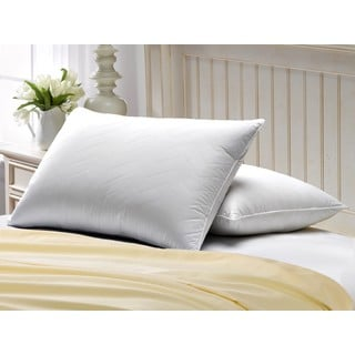 Exquisite Hotel Quilted Gel Filled Soft Pillow (Set of 2)
