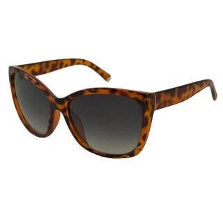 UrbanSpecs LR129254-DRKTRT Oversized Grey Gradient Sunglasses