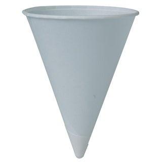 Solo 4R2050 4 Oz White Cone Paper Cups 200-count