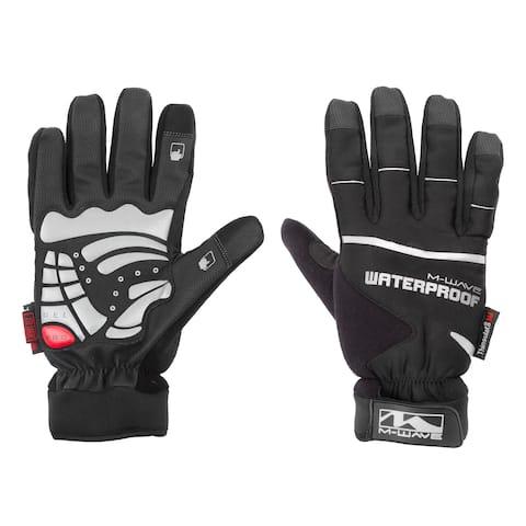 Ventura Alaska Black Fabric Full-finger Waterproof Winter Gloves