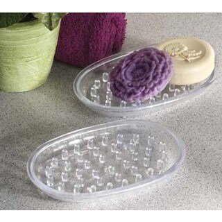 Spectrum Diversified 50650 Clear Soap Dish