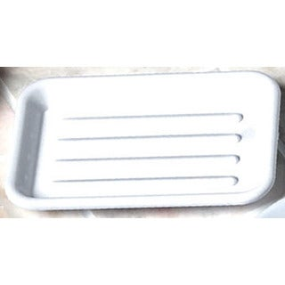 Spectrum Diversified 55550 Clear Rectangular Soap Dish